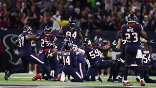 FÚTBOL AMERICANO (NFL Playoffs 2020) - Los Texans de Watson remontan y ganan en la prórroga a Buffalo