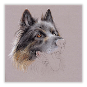 Art By Ewelina Artistic Blog Happy Shepherd Step By Step Colored Pencils