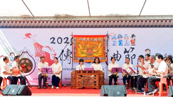 彰化傳統戲曲節 溪湖糖廠享受傳統戲曲饗宴