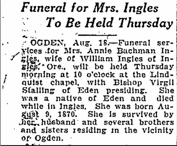 Gatheringgardiners Annie Bachman Ingles 1870 1926