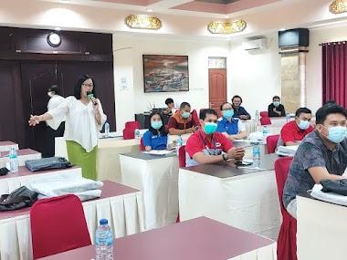 Santy Sastra, Narasumber Workshop Penggiat Anti Narkoba di Dunia Usaha/Swasta BNNP Bali