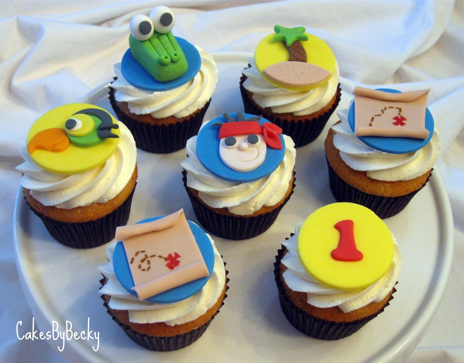 jake and the neverland pirates cupcakes - photo #3
