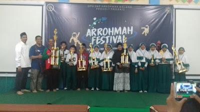 Raih Piala Bergilir di Arrohmah Festival 2018