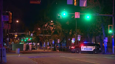 Somali refugee faces murder and terror charges after he stabbed a police officer, ran down four pedestrians with a car in Canada