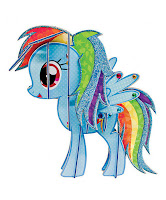 MLP Rainbow Dash 3D Pony DIY Kit by Fashion Angels