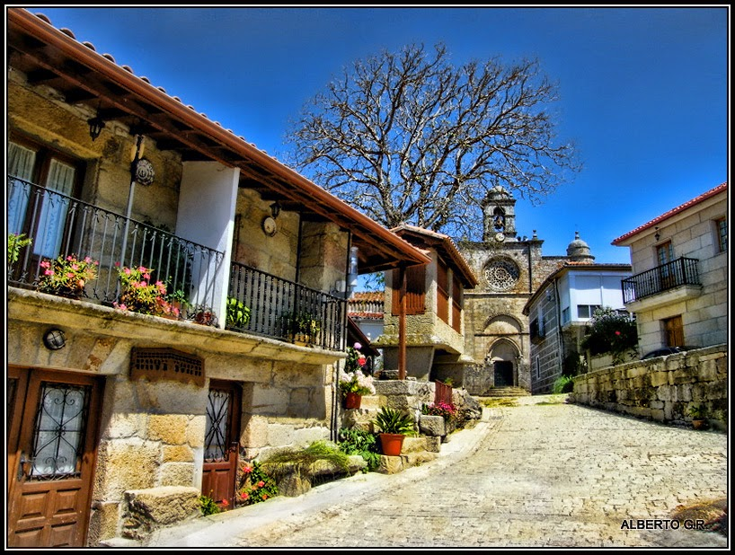 Galicia Pueblo A Pueblo Santa Mariña De Aguas Santas Allariz