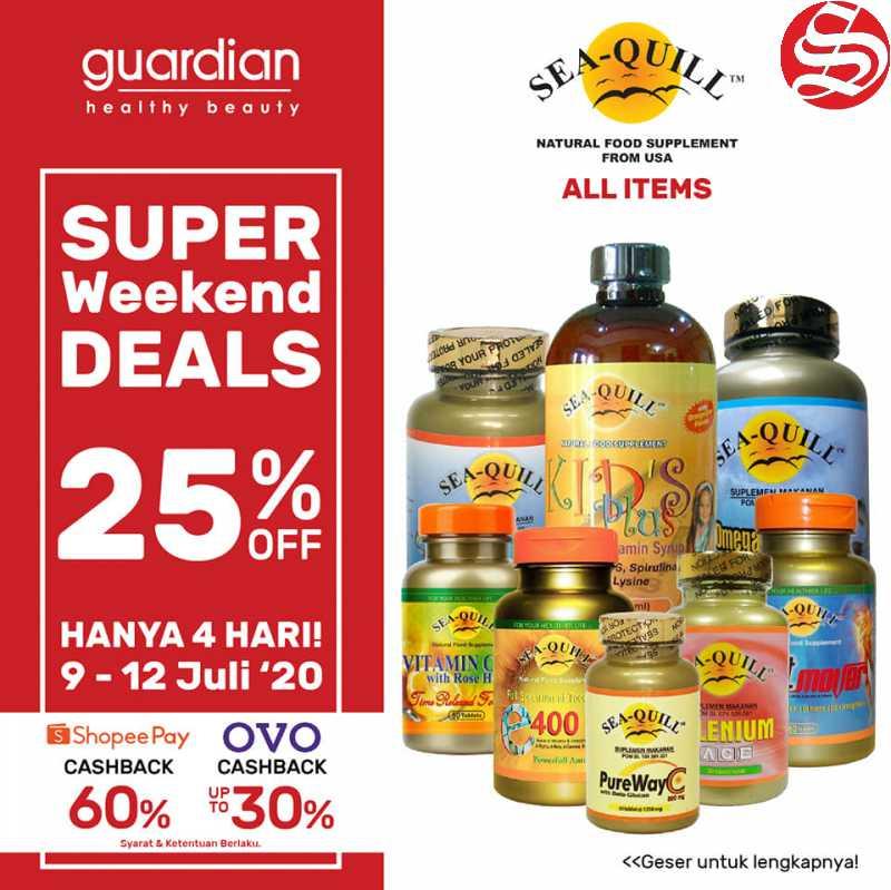 Promo Guardian Weekend Super Deals 9 - 12 Juli 2020