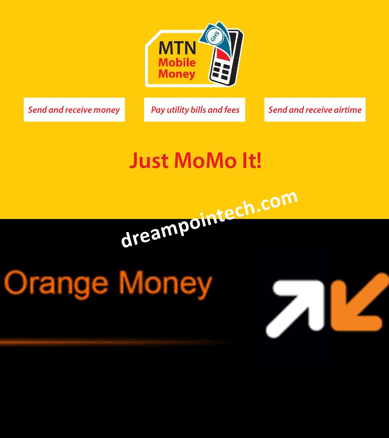 How to Transfer any amount from MTN Mobile Money (MoMo) to Orange Money Online for Free and Vice Versa