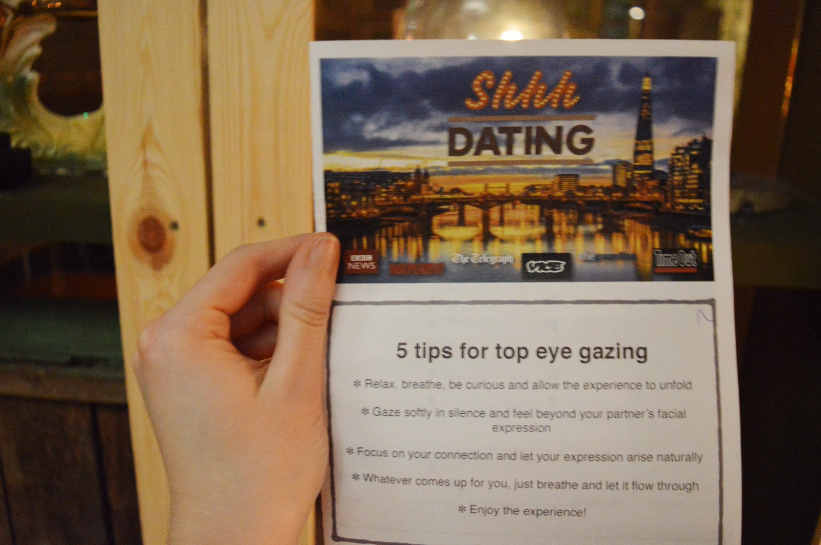 Another term for speed dating