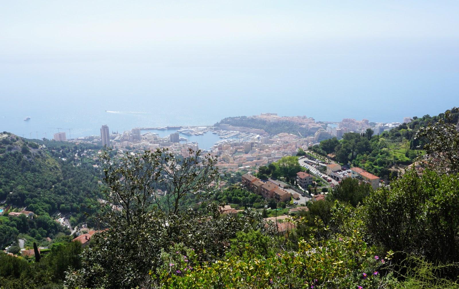 Monaco seen from GR51B trail