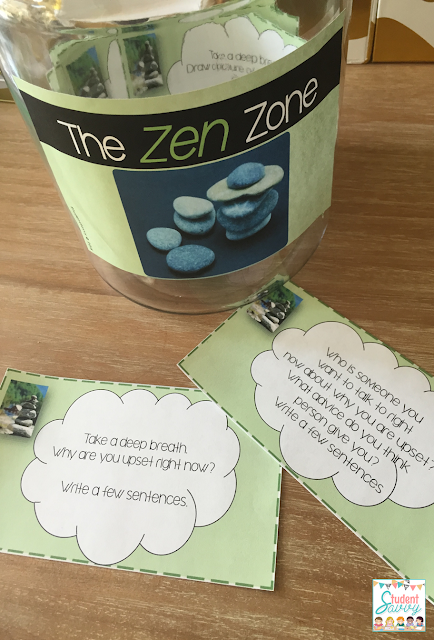 behavior management zen zone