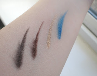 Miners Cosmetics Colour & Kohl Pencil Collection, Miners Cosmetics Eyes, Dancing on Ice makeup