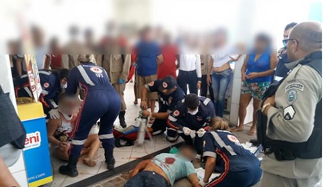Homem morre e mulher é baleada em tiroteio em posto de combustíveis em Sousa