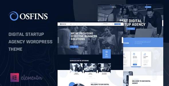Best Digital Startup Agency WordPress Theme