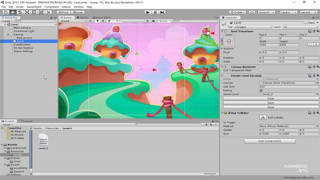 Lets code C# : Candy Crush in Unity