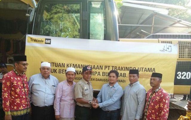Trakindo Berpartisipasi Berikan Bantuan Kemanusiaan Terkait Gempa Bumi di Kabupaten Pidie Jaya, Aceh