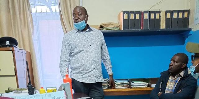 Nakuru Town East MP David Gikaria
