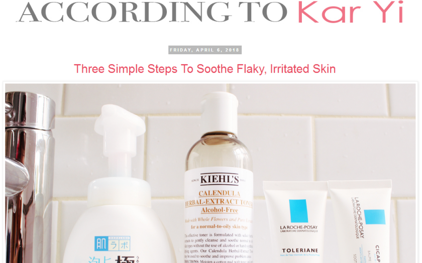 bbloggers, beauty blog, travel blog, according to kar yi, featured blog, blogger, blog of the month, blog series, skincare, beauty hauls, lifestyle