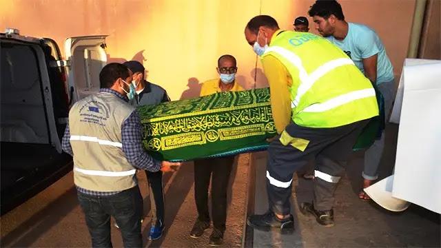 وصول جثماني السائقين المغربيين اللذين قتلا في مالي الى مدينة أكادير