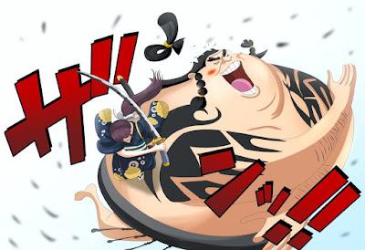 Saat Luffy sedang melaksanakan pengejaran terhadap penculik O Tama [ REVIEW ONEPIECE 915 ] URASHIMA, INSPIRASI MODE GEAR 4TH BARU LUFFY UNTUK MENGALAHKAN KAIDO