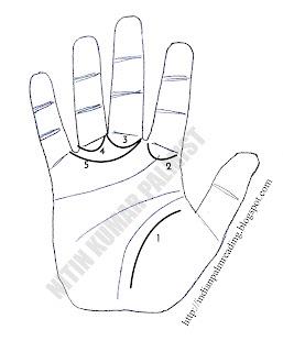 secondary lines gaun rekha palmistry