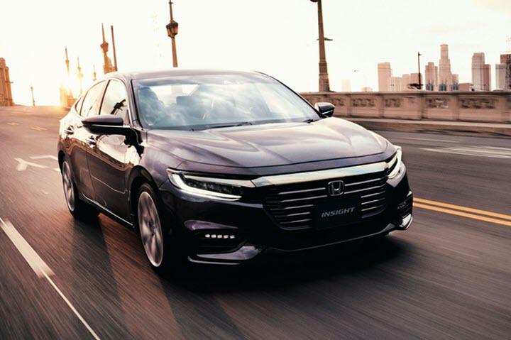 Honda Insight 2021 nâng cấp ngoại thất, bổ sung tính năng