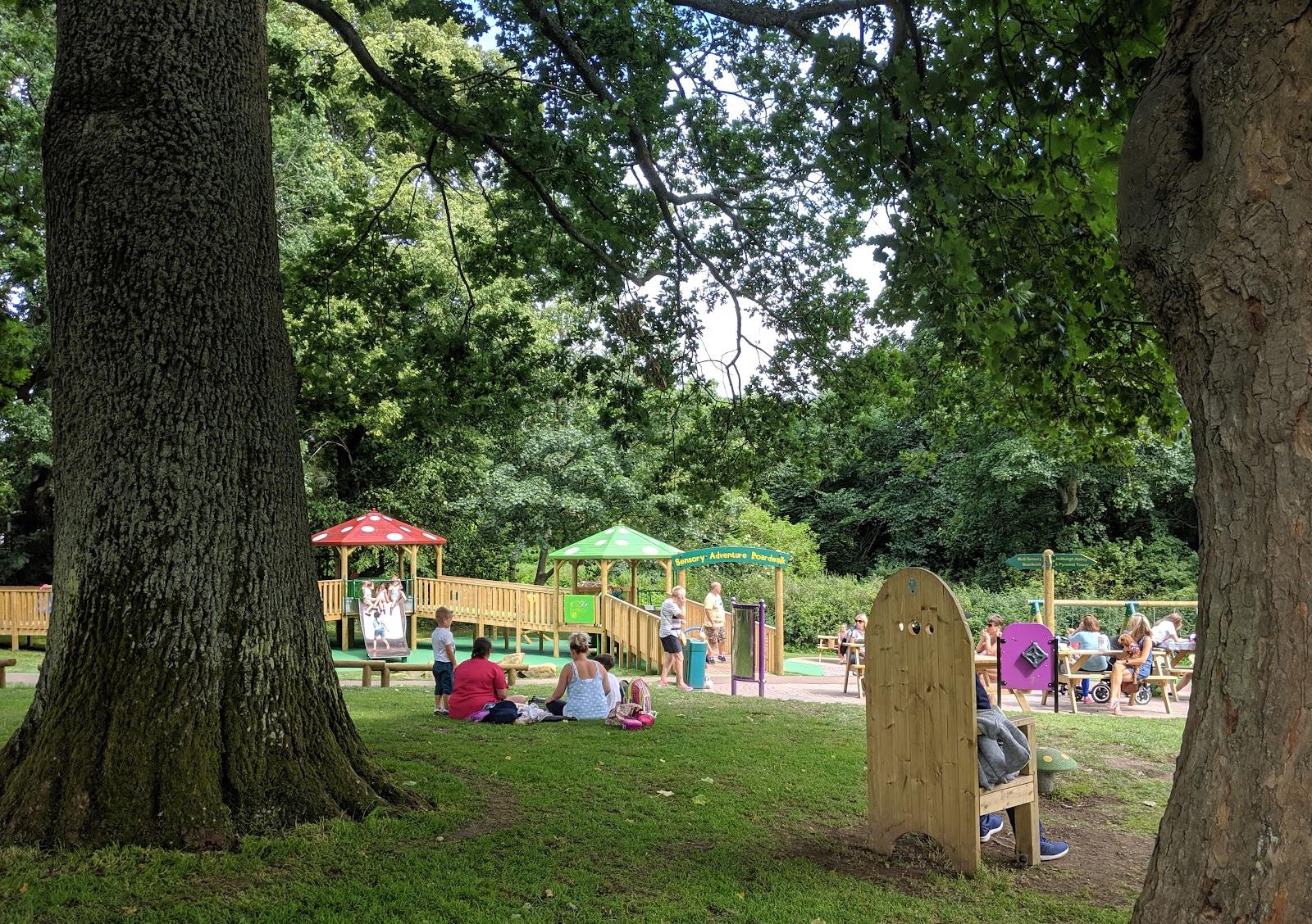 Harestanes Park, Jedburgh  - picnic spots