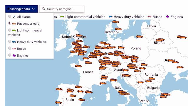 Coronovírus: Europa já tem 298 fábricas de automóveis operando hoje