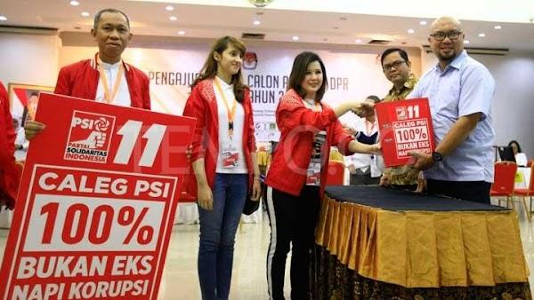 Survei Pemilu 2024, PSI Mengejutkan, PPP, PAN, Demokrat dan Nasdem di Bawah 4%