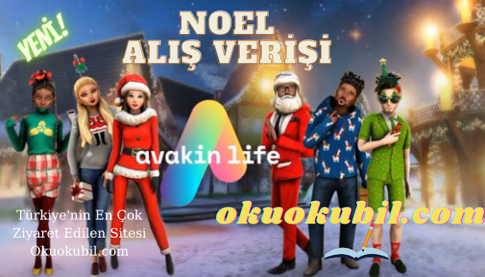 Avakin Life 1.048.04 Noel Özel Kıyafet Alma XP + Itens De Evento+Roupas Raras 2021