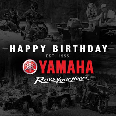Yamaha Birthday: Terimakasih Banyak, Yamaha!