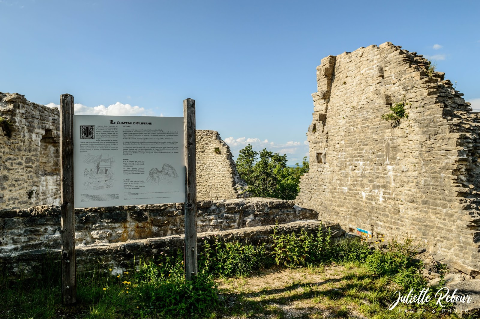 Site du pic d'Oliferne