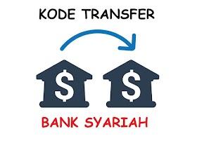 Kode Transfer Bank Syariah Terlengkap