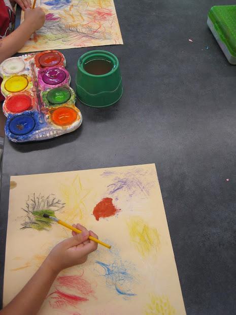 Zilker Elementary Art Class 2014