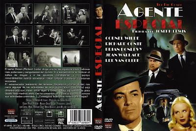 Carátula dvd: Agente especial (1955)