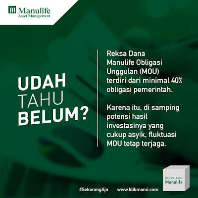 Investasi Reksadana Manulife Indonesia KlikMAMI