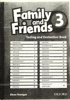 Family and Friends 3 - Testing and Evaluation Book
