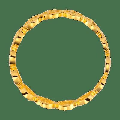 Nhẫn Kim Tiền Vàng Ý 18K PNJ