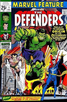 macam-macam The Defenders dalam Komik Marvel