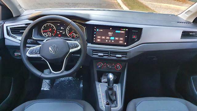 Volkswagen Nivus Comfortline - interior - painel