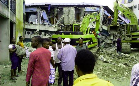 Many Injured as Hotel Collapsed in Delta