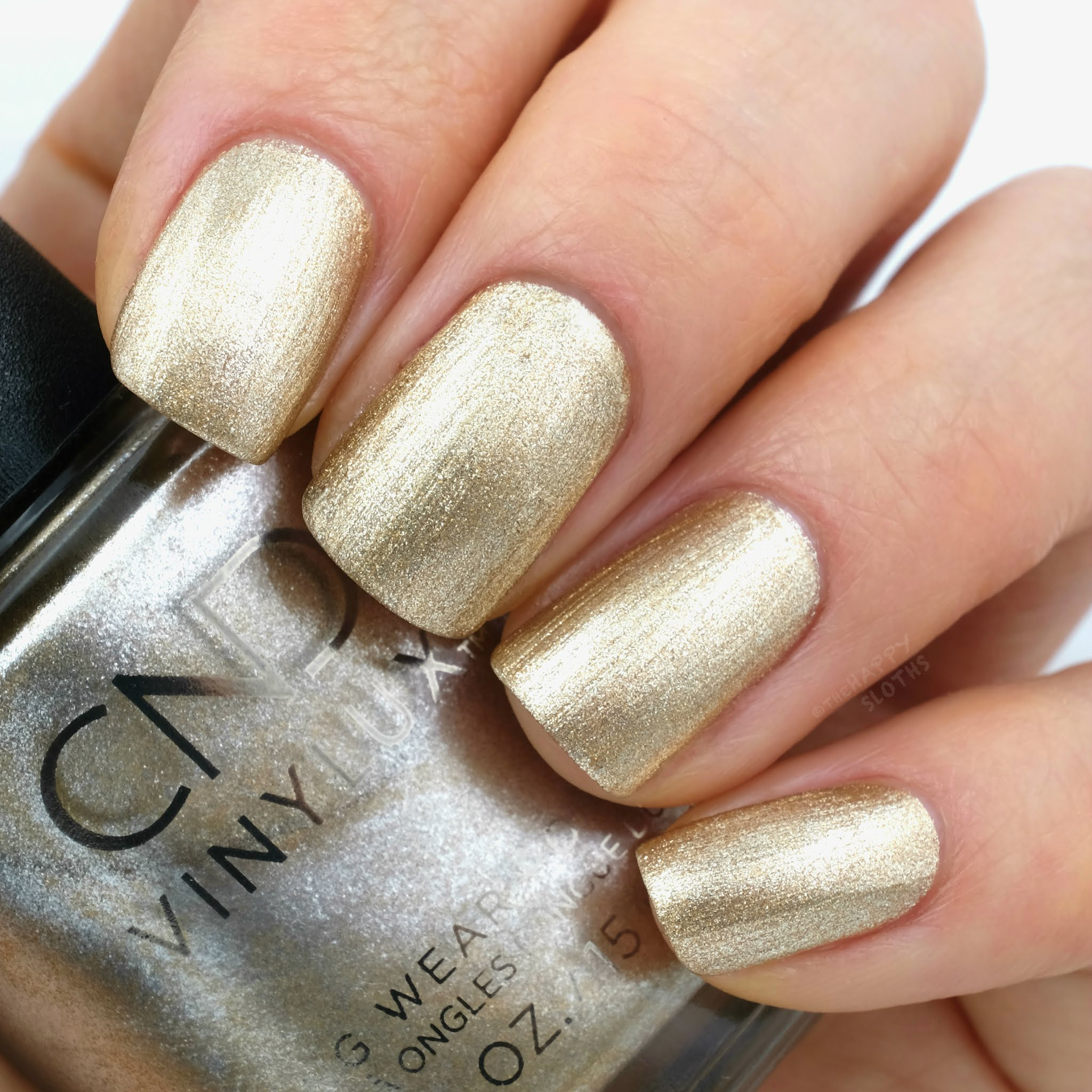 CND | Holiday 2020 Cocktail Couture Collection | Get That Gold: Review and Swatches