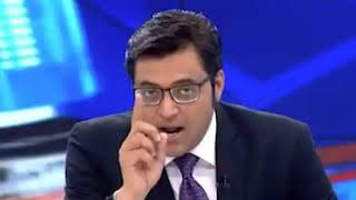 नंबर 1 पत्रकार अर्नब गोस्वामी संजय राउत के खिलाफ असली लड़ाई दे रहे हैं। No.1 journalist Arnab Goswami is giving a real fight against Sanjay Raut.