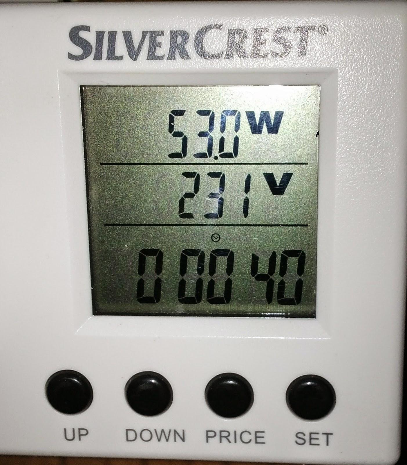 Moc potrzebna do pracy instalacji solarnej