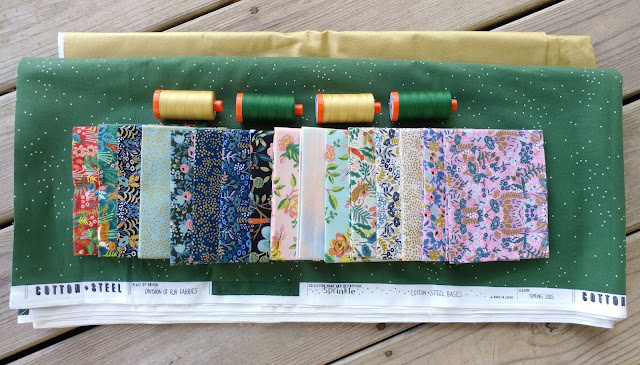 Menagerie fabric by Rifle Paper Co. from Cotton + Steel