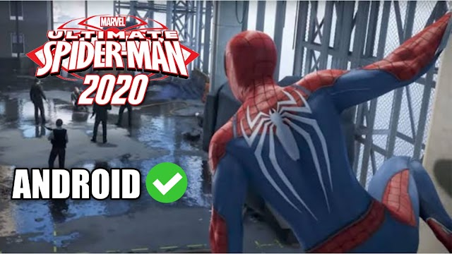 Download Ultimate Spider-Man Android Game APK - 1.1GB