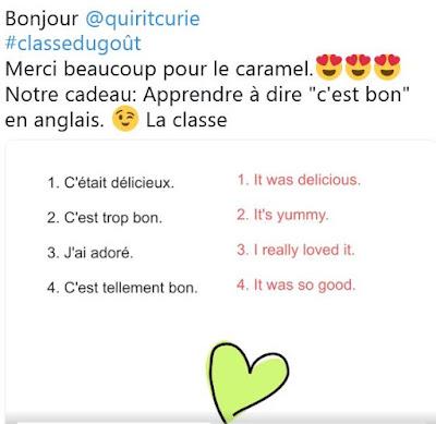 #Classedugout et langue vivante