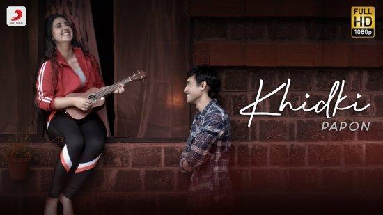 Khidki Lyrics Papon | Ashnoor Kaur x Ritwik Bhowmik