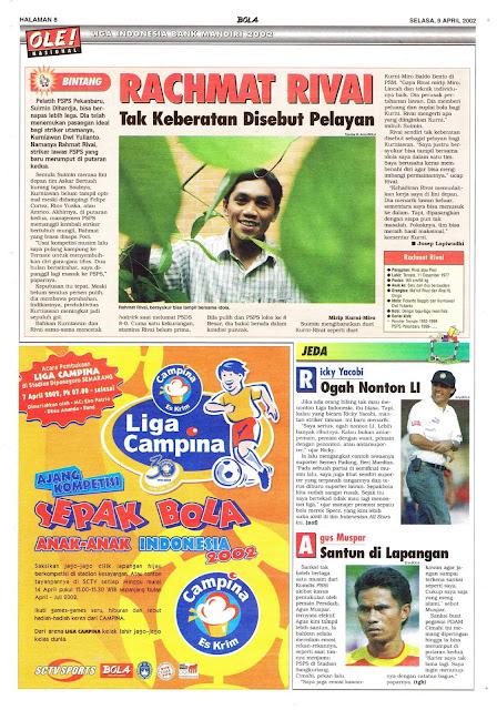 LIGA INDONESIA BANK MANDIRI PROFIL RACHMAT RIVAI