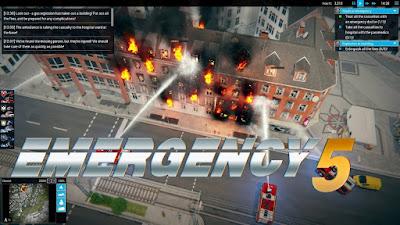 تحميل لعبة الطوارىء واطفاء الحريق Emergency 5 كاملة ومجاناً